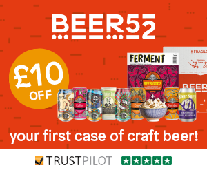 Get 8 incredible craft beers for only £14 with Beer52