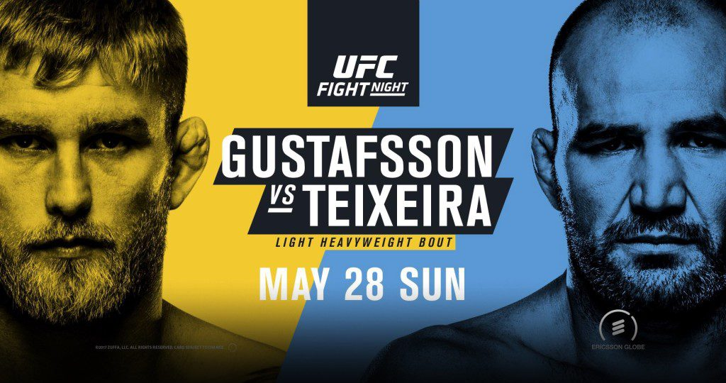 Watch UFC Fight Night 109: Gustafsson vs. Teixeira