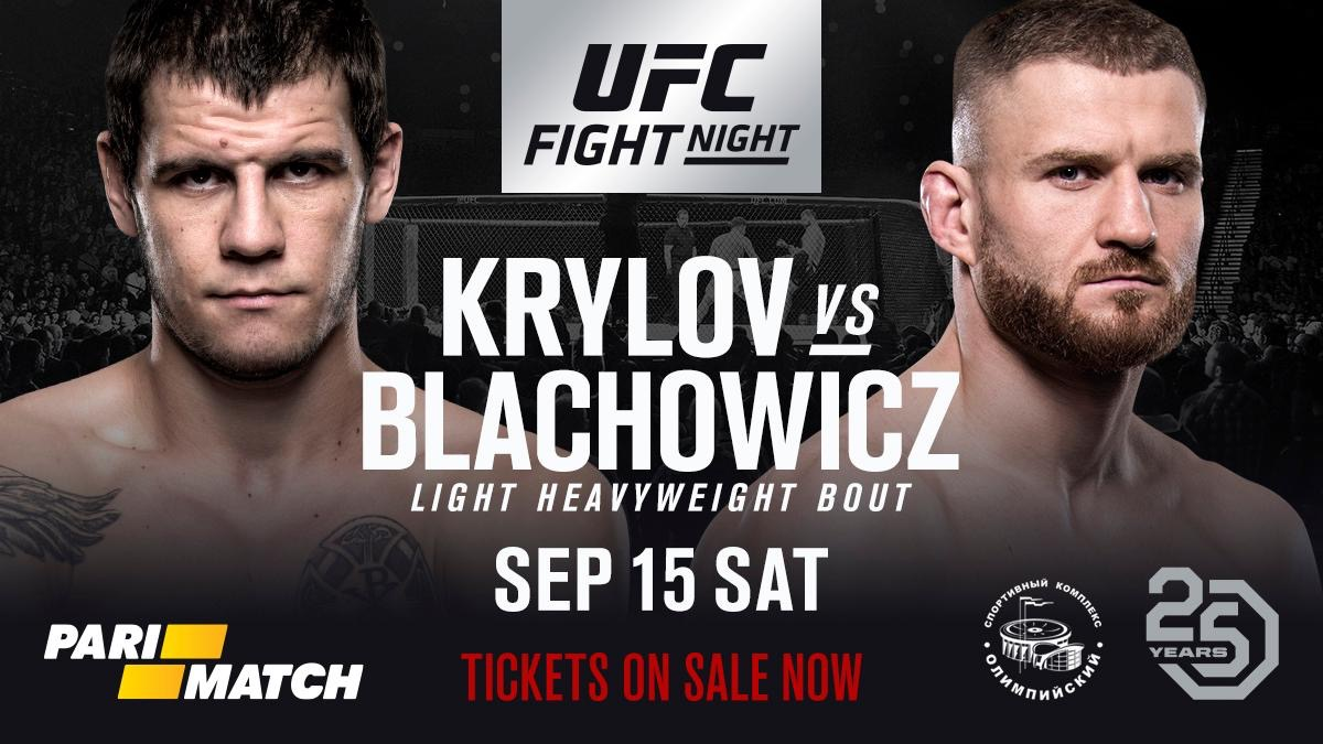Nikita Jan Ufc The To Returns Krylov Blachowicz On Take qSqFOU0